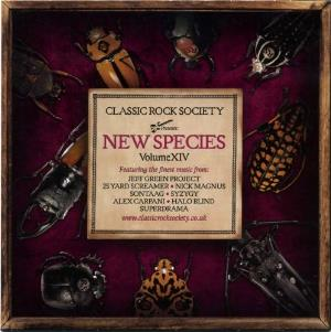 Various Artists (label Samplers) - Classic Rock Society: New Species - Volume Xiv CD (album) cover