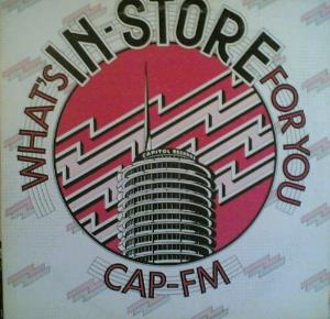 Various Artists (label Samplers) - Cap-fm: What's In-store For You 3 CD (album) cover