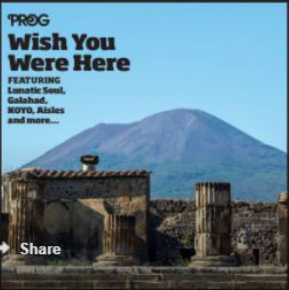 Various Artists (label Samplers) - P58: Wish You Were Here CD (album) cover