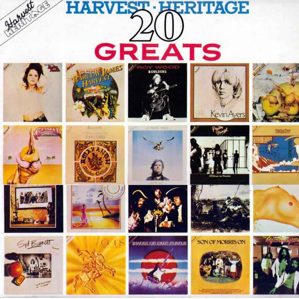 Various Artists (label Samplers) - Harvest Heritage: 20 Greats CD (album) cover