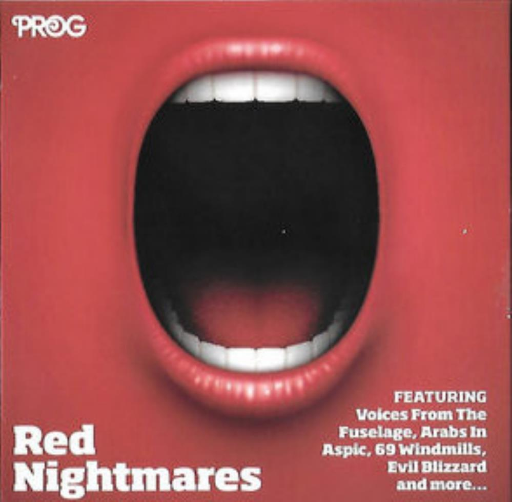 Various Artists (label Samplers) - P87: Red Nightmares CD (album) cover