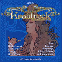 Various Artists (concept Albums & Themed Compilations) - Krautrock - Music For Your Brain CD (album) cover