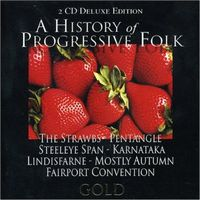 Various Artists (concept Albums & Themed Compilations) - A History Of Progressive Folk CD (album) cover