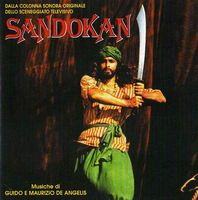 Various Artists (concept Albums & Themed Compilations) - Sandokan (o.s.t.) CD (album) cover