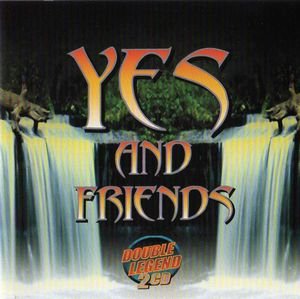 Various Artists (concept Albums & Themed Compilations) - Yes And Friends (double Legend) CD (album) cover