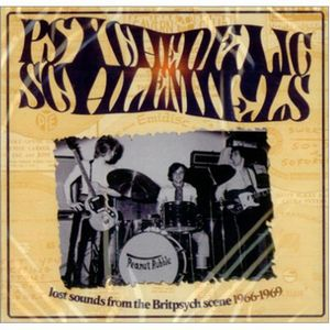 Various Artists (concept Albums & Themed Compilations) - Psychedelic Schlemiels - Lost Sounds From The Britpsych Scene 1966-1969 CD (album) cover