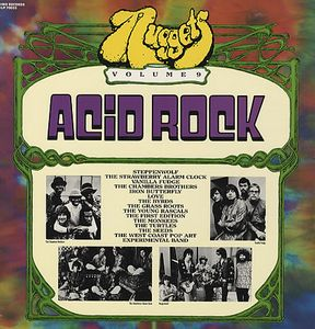 Various Artists (concept Albums & Themed Compilations) - Nuggets Volume Nine - Acid Rock CD (album) cover