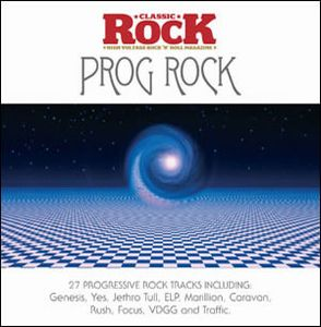 Various Artists (concept Albums & Themed Compilations) - Classic Rock Presents: Prog Rock CD (album) cover