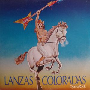 Various Artists (concept Albums & Themed Compilations) - Lanzas Coloradas (opera Rock) CD (album) cover