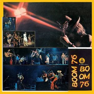 Various Artists (concept Albums & Themed Compilations) - Boom Festival '76 CD (album) cover
