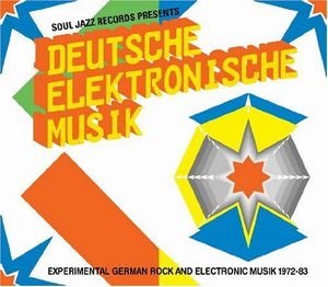 Various Artists (concept Albums & Themed Compilations) - Deutsche Elektronische Musik: Experimental German Rock And Electronic Musik 1972-83 CD (album) cover
