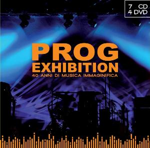 Various Artists (concept Albums & Themed Compilations) - Prog Exhibition - 40 Anni Di Musica Immaginifica (rpi) (7cd + 4dvd) CD (album) cover