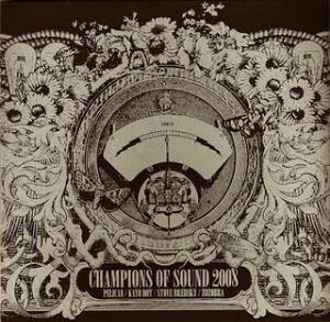 Various Artists (concept Albums & Themed Compilations) - Champions Of Sound 2008 CD (album) cover