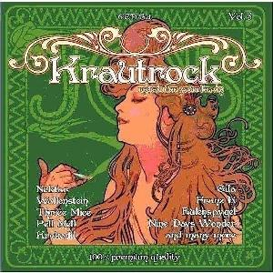 Various Artists (concept Albums & Themed Compilations) - Krautrock - Music For Your Brain Vol. 3 CD (album) cover