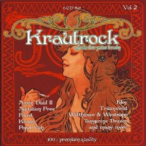 Various Artists (concept Albums & Themed Compilations) - Krautrock - Music For Your Brain Vol. 2 CD (album) cover