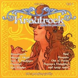 Various Artists (concept Albums & Themed Compilations) - Krautrock - Music For Your Brain Vol. 4 CD (album) cover