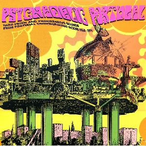 VARIOUS ARTISTS (CONCEPT ALBUMS & THEMED COMPILATIONS) - Psychedelic Portugal - Hard Psych And Progressive Sounds From Portugal Underground Scene 1968-1974 CD album cover