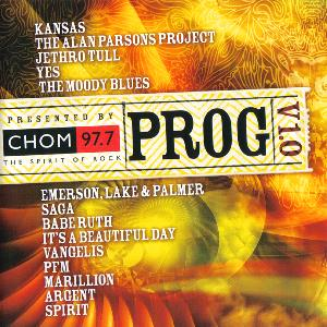 Various Artists (concept Albums & Themed Compilations) - Prog V1.0: Presented By Chom 97.7 CD (album) cover