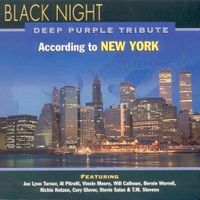 Various Artists (tributes) - Black Night, Deep Purple Tribute According To New York CD (album) cover