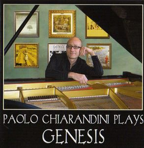 VARIOUS ARTISTS (TRIBUTES) - Paolo Chiarandini Plays Genesis CD album cover