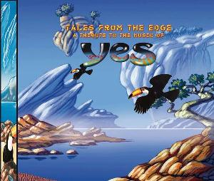 Various Artists (tributes) - Tales From The Edge: A Tribute To The Music Of Yes CD (album) cover