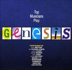 Various Artists (tributes) - Top Musicians Play Genesis CD (album) cover