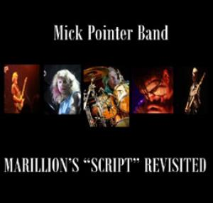 VARIOUS ARTISTS (TRIBUTES) - Marillion's Script Revisited (by Mick Pointer Band) CD album cover