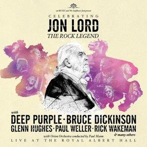 Various Artists (tributes) - Celebrating Jon Lord: The Rock Legend CD (album) cover