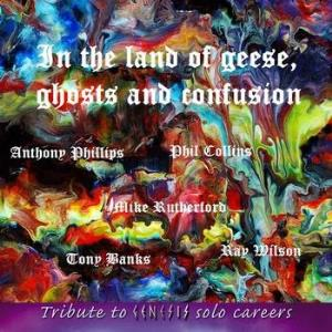 Various Artists (tributes) - In The Land Of Geese, Ghosts And Confusion. Tribute To Genesis Solo Careers CD (album) cover