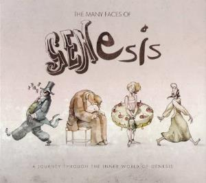 Various Artists (tributes) - The Many Faces Of Genesis - A Journey Through The Inner World Of Genesis CD (album) cover