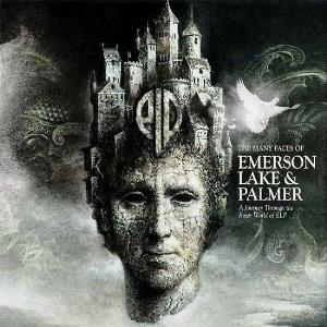 VARIOUS ARTISTS (TRIBUTES) - Many Faces Of Emerson Lake & Palmer: A Journey Through The Inner World Of Elp CD album cover