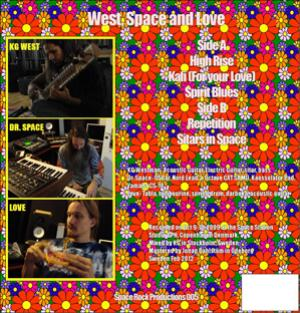 Oresund Space Collective - West, Space And Love CD (album) cover