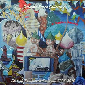 Oresund Space Collective - Live At Kildemose Festival 2008-2010 CD (album) cover