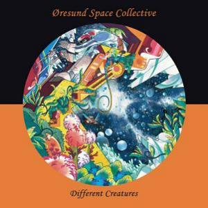 Oresund Space Collective - Different Creatures CD (album) cover
