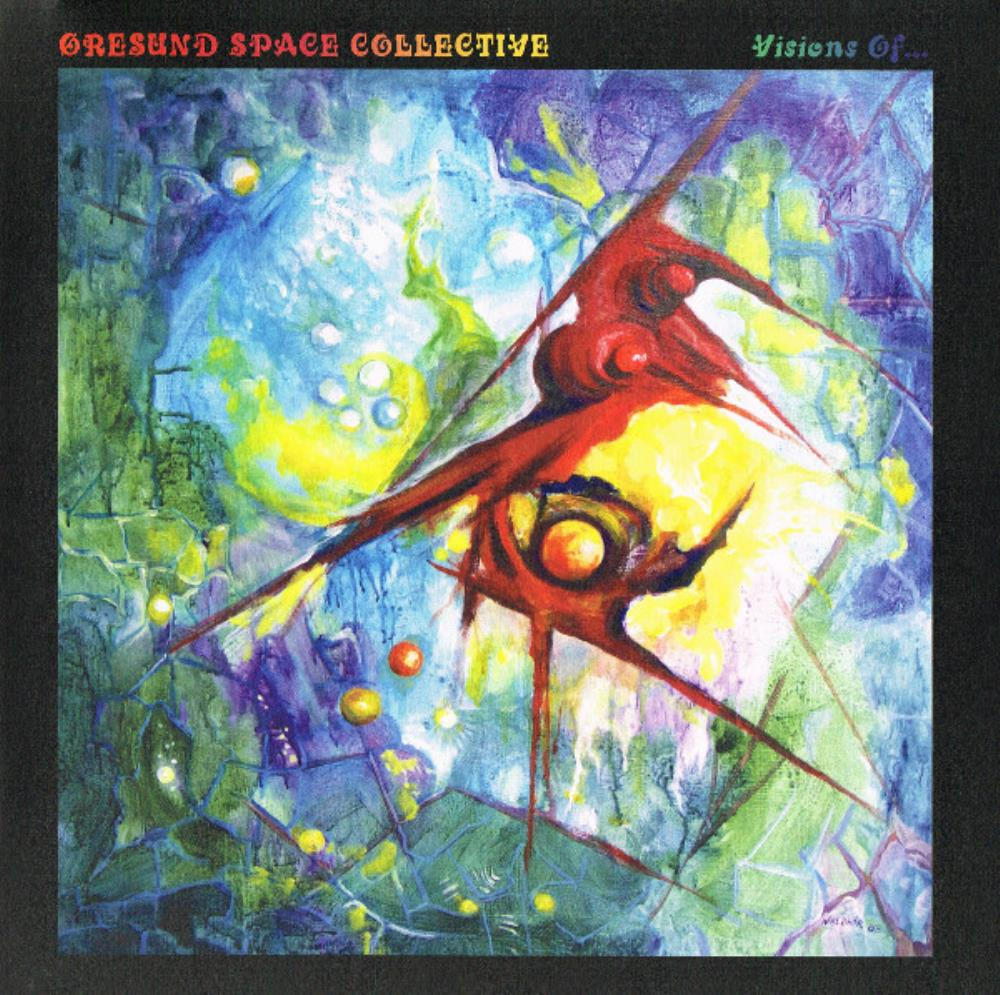 ORESUND SPACE COLLECTIVE - Visions Of... CD album cover