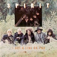SPIRIT - I Got A Line On You CD album cover
