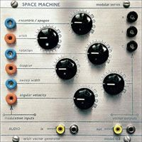 Space Machine - Modular Series - Model 102 (Orbit Vector Generator) CD (album) cover