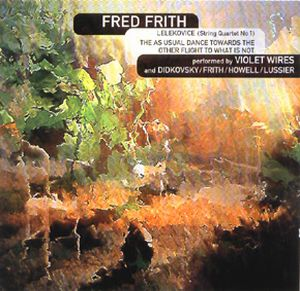 Fred Frith - Quartets CD (album) cover
