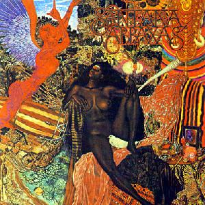 CARLOS SANTANA - Abraxas CD album cover