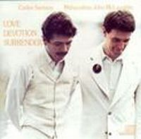 Carlos Santana - Love Devotion And Surrender (with John McLaughlin) CD (album) cover