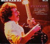 Carlos Santana - In Concert (Lorely Festival In Germany 1998) DVD (album) cover