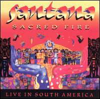 Carlos Santana - Sacred Fire CD (album) cover