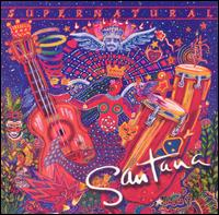 CARLOS SANTANA - Supernatural CD album cover