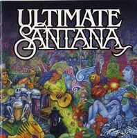 Carlos Santana - Ultimate Santana CD (album) cover