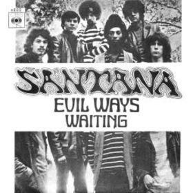 Carlos Santana - Evil Ways CD (album) cover