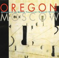 Oregon - Oregon In Moscow (Oregon With The Moscow Tchaikovsky Symphony Orchestra) CD (album) cover