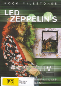 Led Zeppelin - Rock Milestone Led Zeppelin's IV DVD (album) cover