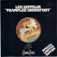 LED ZEPPELIN - Trampled Underfoot CD album cover