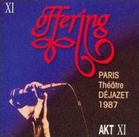Offering - Paris, Théâtre Déjazet 1987 CD (album) cover