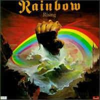 RAINBOW - Rising CD album cover
